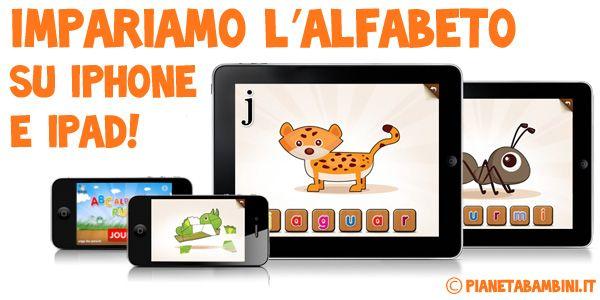5 app iOS (iPhone e iPad) per imparare l'alfabeto giocando
