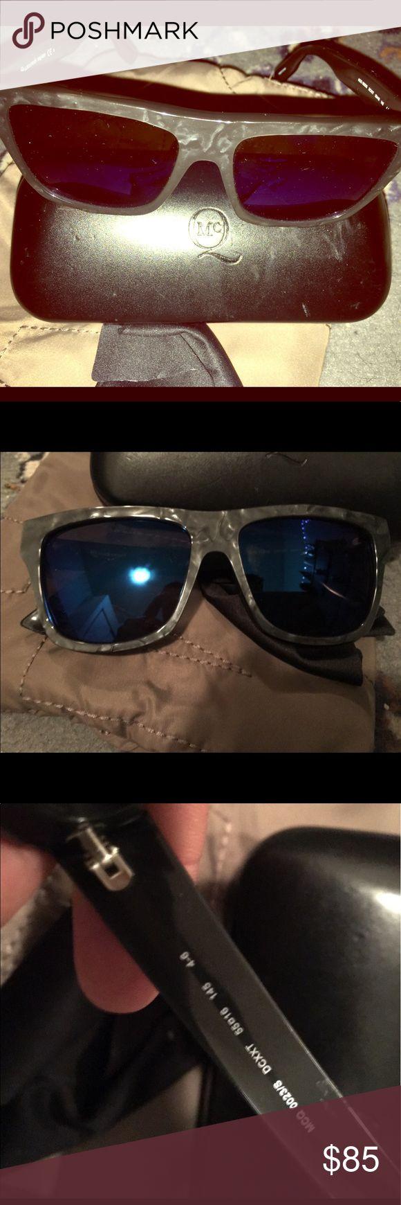 Alexander McQueen sunglasses Alexander McQueen blue mirror wayfarer sunglasses Alexander McQueen Accessories Glasses