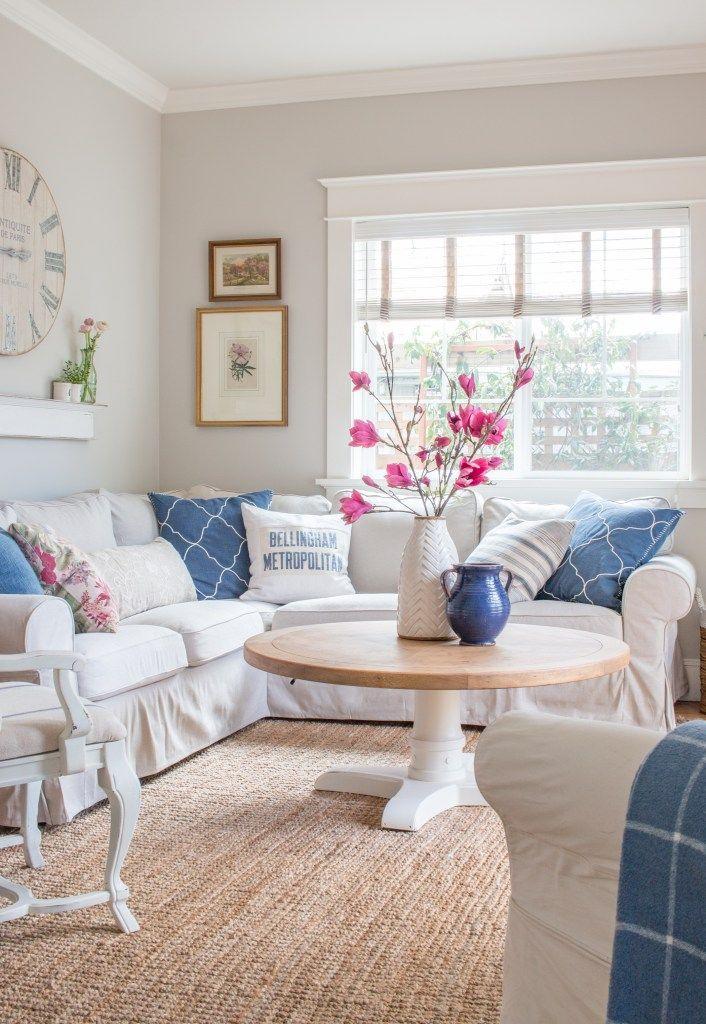 10 beautiful spring home tours we create home decor spring rh pinterest ca