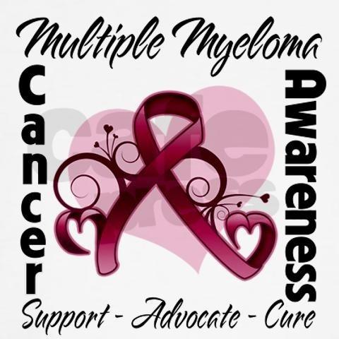 Multiple Myeloma Cancer Ribbons