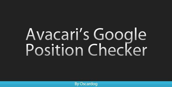 PHP Google Position Checker