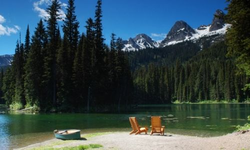 Fernie British Columbia Lake
