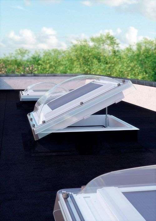 Got a room with a flat roof? Add roof domes - these remote control windows will…