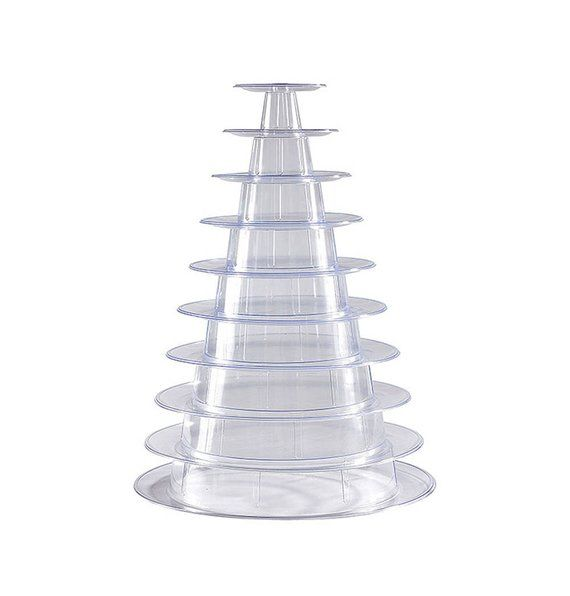 10 Tier Macaron Tower Display Stand For French Macarons Macaron Tower Macaron Stand Macaroon Tower