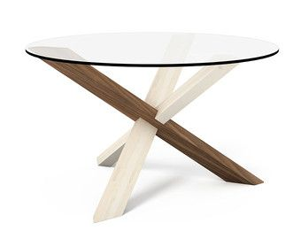 2x3 Round Wooden Puzzle Coffee Table FREE SHIPPING to by PRAKTRIK