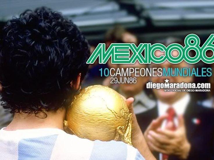 Argentina Campeón Del Mundial 86 | Fotos HD - Taringa!