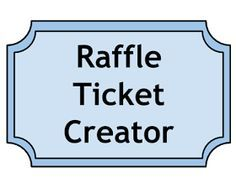 Free Ticket Maker Template 38 Best Raffle Tickets Design Images On Pinterest  Ticket Design .