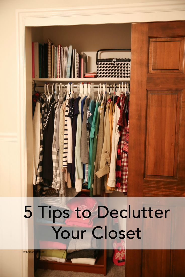 Organization Ideas| 5 Tips To Declutter Your Closet