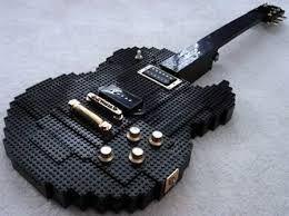 STRANGE GUITAR WEEK Lego Gibson, want it! #rareandstrangeinstruments