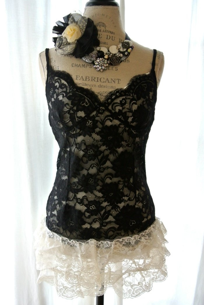 36 Best Black Lace Tank Top Images On Pinterest  Black -1872