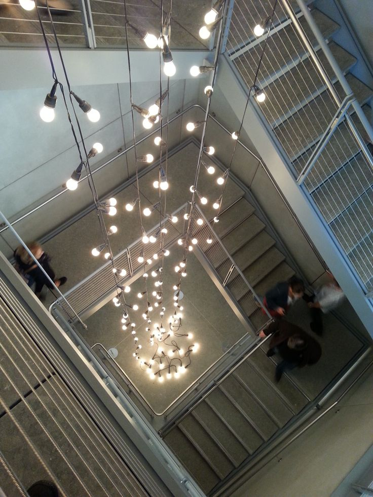 Staircase, Whitney Museum, NYC