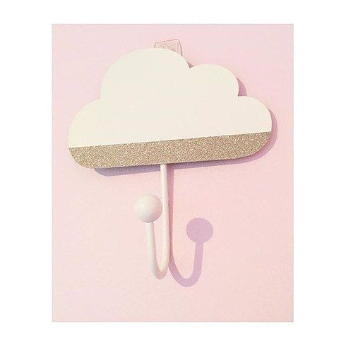 Cloud hooks- $5 for three | 23 Clever Kmart Hacks That'll Take Your Decor To The Next Level