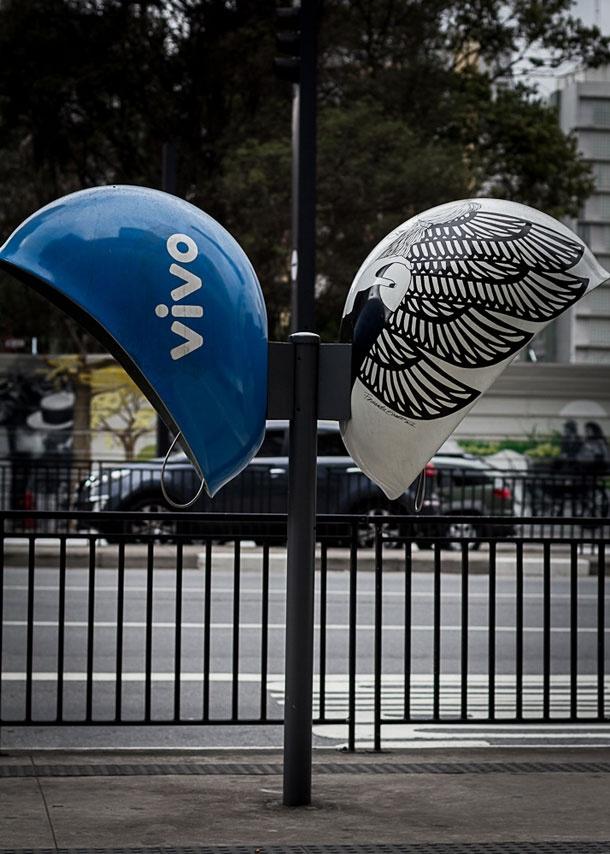 Urban Art Brazil's Pay Phones Get Custom Treatment In Call Parade