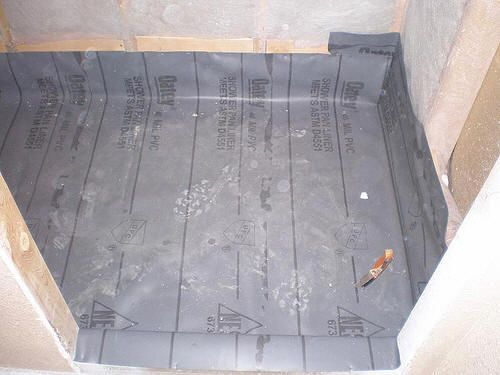 Elegant How To Build A Tiled Shower In Your Home With Steps For Constructing A Waterproof  Shower Base.