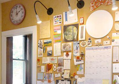 cork wall u2013 diy bulletin board wall