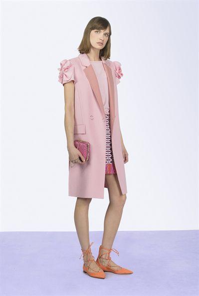 pinko, blazer, rosa quarzo, colore Pantone 2016, Labo54oltrelamoda, fashion blog, trends, primavera/estate
