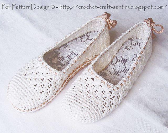 Ravelry: Girare pantofole a casa per scarpe da strada - Crochet vassoio-Soles + Sole-trattamento da modello Tutorial Ingunn Santini