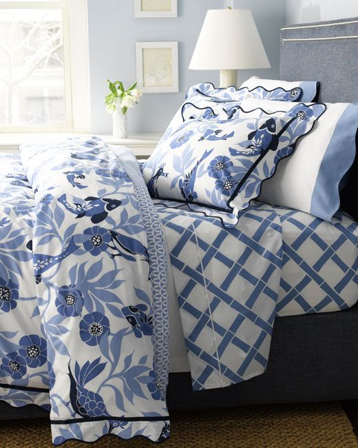 Really like how subtle the nautical theme is.  Perfect for the guest room!