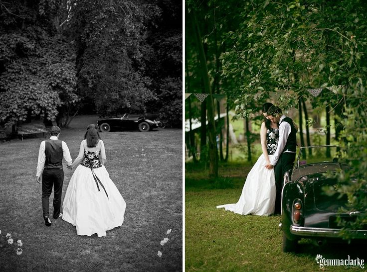 Jane and Aaron's Backyard Blue Mountains Wedding