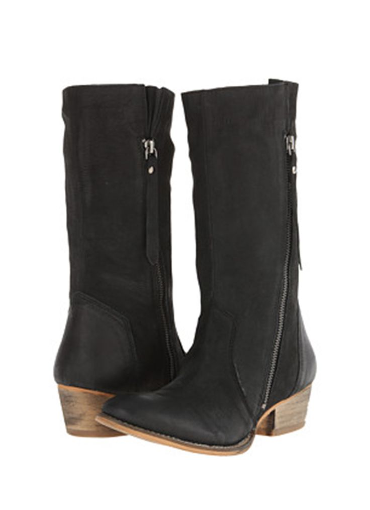 Chester Leather Boots - Black | Buy Online at Mode.co.nz