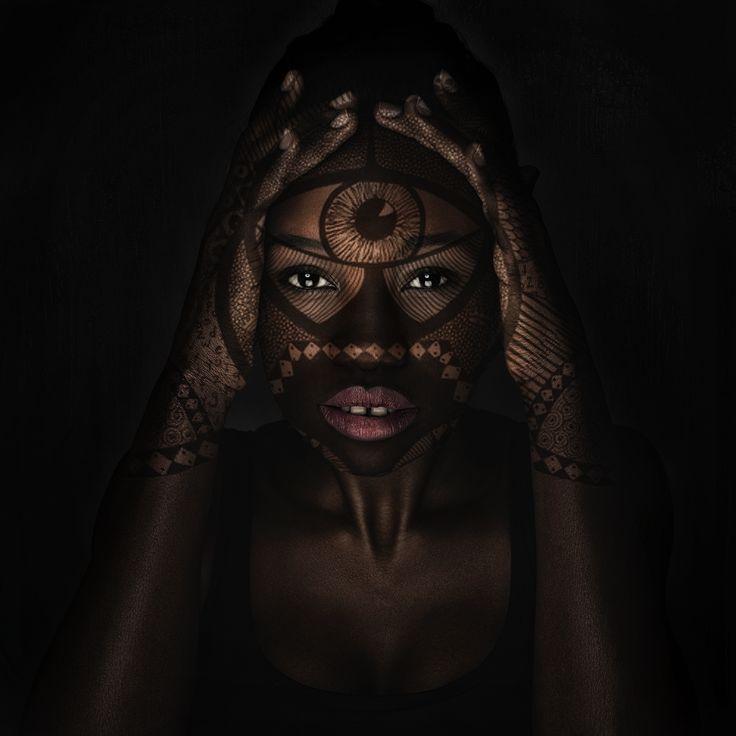 Model - Ayah, Photography & Retouching - Lisa Minogue of Liberation Images  Insta: @liberationimages  South Sudanese African Australian Black Female Model Henna