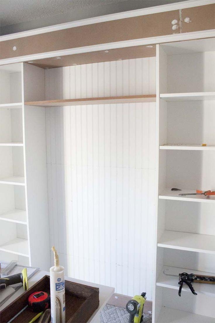 office makeover part 2 id es maison et rangement pinterest tag res sur mesure sur mesure. Black Bedroom Furniture Sets. Home Design Ideas