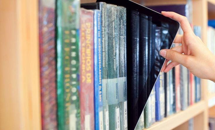 #cultura #llibres #tablet #novestecnologies #biblioteca #uvic #uviclife #universitat