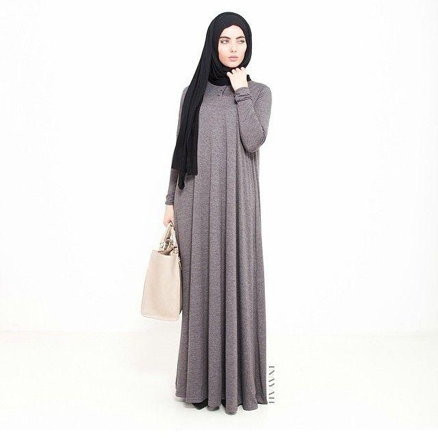 INAYAH | Ash High Neck Cotton Abaya | Black Georgette Hijab #Georgette #Hijab #black #floral #dress #dresses #islamicfashion www.inayahcollection.com #modestfashion #modesty #islamicfashion #hijabfashion #modeststyle #modestabayas #modestdresses