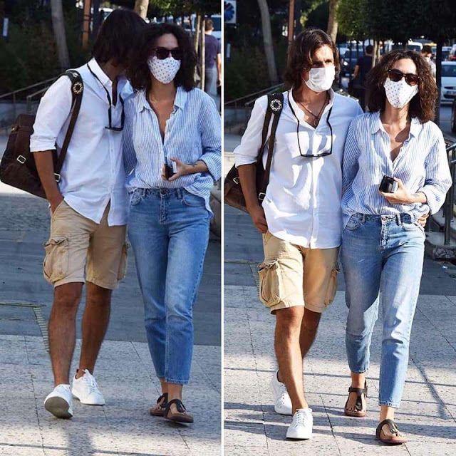برجي أكلاي في المستشفى بأحدث ظهور لها مع حبيبها الجديد شاهد Mom Jeans Fashion Pants