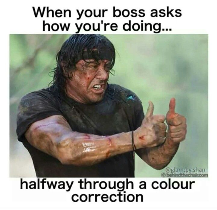 Color Correction Hairstylist Humor