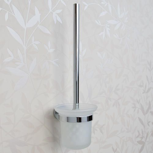 Ceeley Collection Wall Mount Toilet Brush Holder