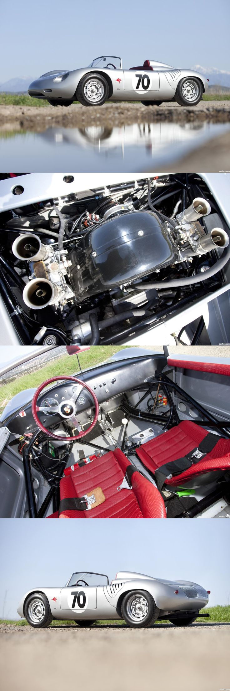 3 Porsche 718 RS61 Spyders competed in the 1961 Le Mans race , entered by Porsche System engineering . No.30 DNF>engine .. No.32 driven by Herrmann / Barth finished 7th o/a .. No.33 driven by Holbert / Gregory , finished 5th o/a & 1st in 2Ltr. class .