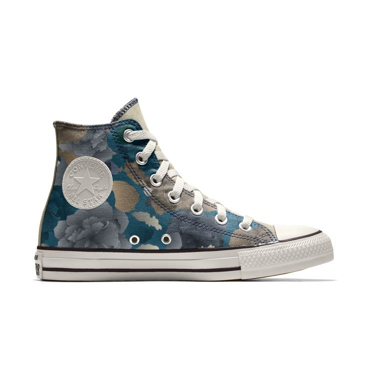 Converse All Star personalisierte Schuhe - HANDMADE SHOES - Decorative Paisley size 33 EU Mys