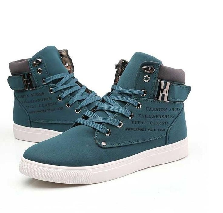 Hot Men Shoes Sapatos Tenis Masculino Male Fashion Spring Autumn Leather  Shoe For Men Casual High