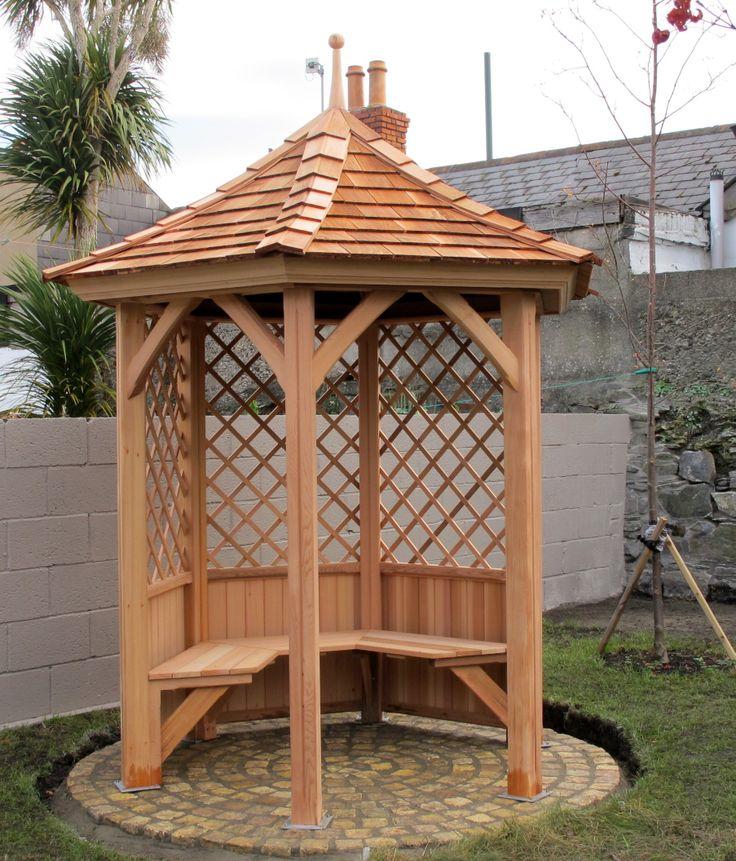 Love your garden more with a Garden Gazebo from Victorian Garden Buildings.