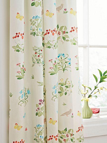 Voysey`s garden curtains 66x72 multi
