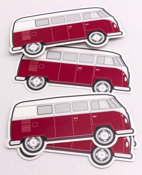 VW Bus Stickers