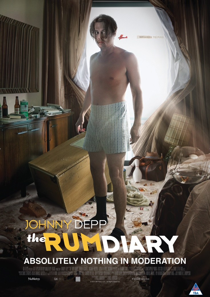 'The Rum Diary' - Johnny Depp in a comedy-drama based on Hunter S. Thompson's novel. | 25 May http://numet.ro/rumdiary