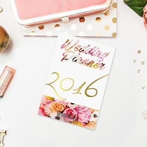 170 page, printable, stylish Wedding Planner with Calendar for 2016. Designed by wedding consultants. Download now for free!  http://beautifulday.com.pl/free-wedding-planner-for-2016/