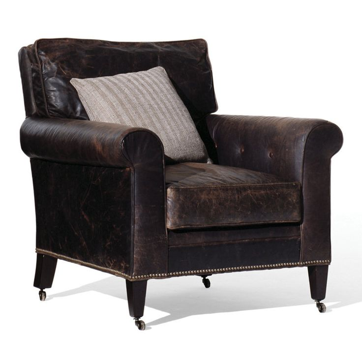 Shop For Ralph Lauren Club Chair, And Other Living Room Chairs At  Englishmanu0027s Interiors In Dallas, TX. This Tailored Saddle Leather Arm Chair  And Side ...