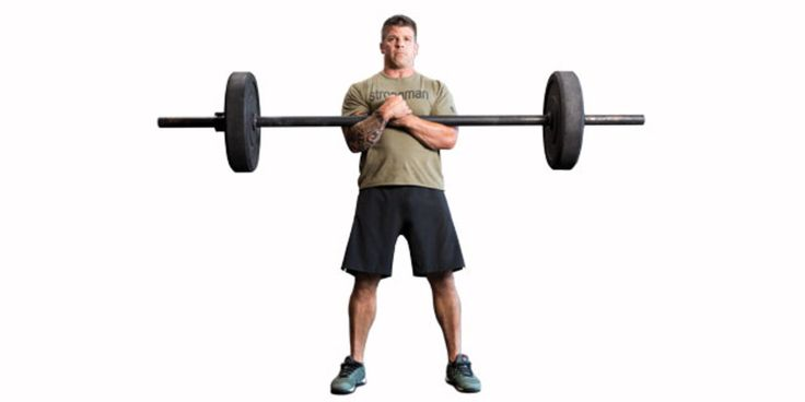 The Zercher Squat. Learn the right way to perform this underrated but effective exercise.
