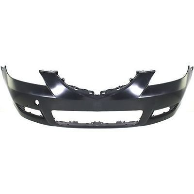 NEW FRONT BUMPER COVER SEDAN STANDARD TYPE FOR MAZDA 3 2007-2009 MA1000215