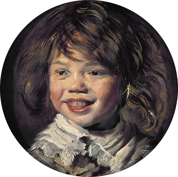 Frans Hals. Laughing Boy, c. 1625. Oil on panel. Royal Picture Gallery, Mauritshuis, The Netherlands.