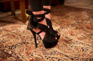 Love Shoes With Ribbon