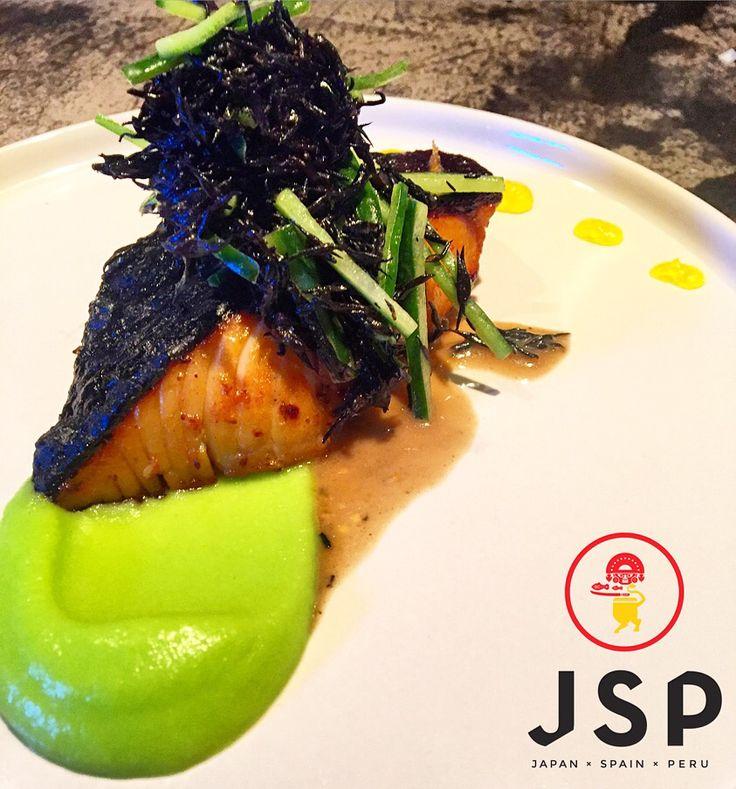 BLacK Cod***** JSP Dinner Menu @ Cinco***** #cinco #jsp #japan #spain #peru #nikkei #restaurant #tapas #athens #kolonaki #skoufa #endlessdream #cinco_athens #pisco #sake #ceviche #tiradito #tigersmilk #cincoathens #markadakisteam #blackcod  http://www.cincoathens.com