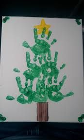 Image result for preschool handprint christmas crafts