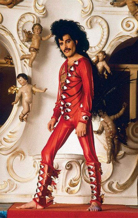 Freddy Mercury, you just have to take a moment to appreciate people being who they are.