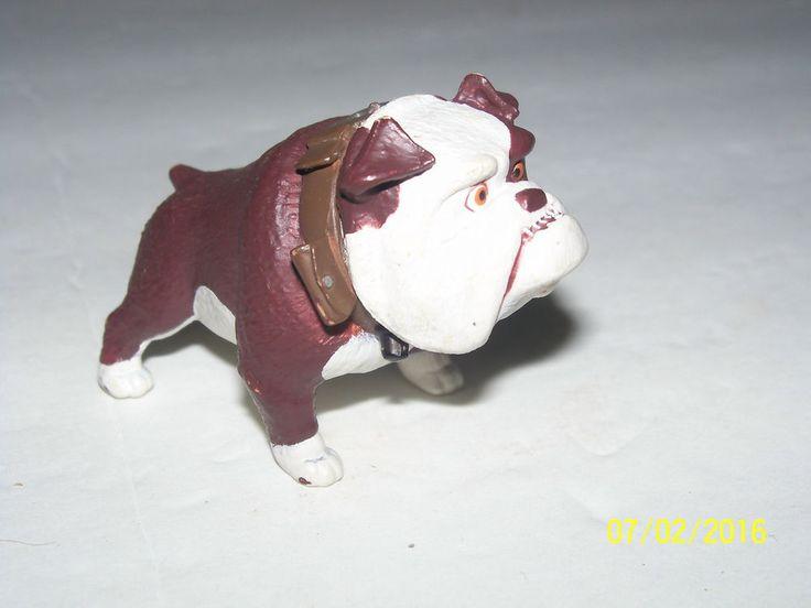rare disney toy bulldog gamma up figurine pvc dog pixar small details #disney