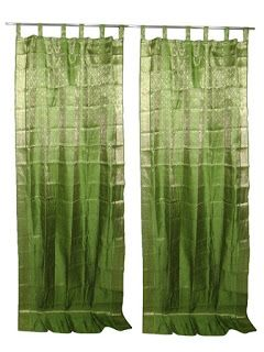 Bohemian Style Clothing : Indian Sari Curtains#indiancurtains #Curtains