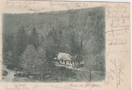 Šternberk, partie z lesa, DA